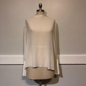 H & M Bell Sleeve Blouse